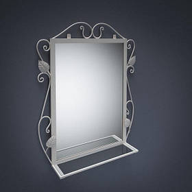 Зеркало Хилтон Белое (Tenero TM)