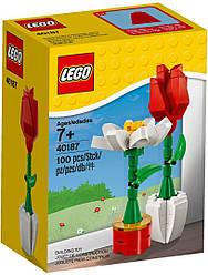 Lego Iconic Цветы 40187