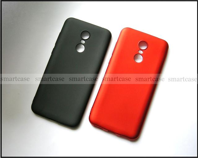 купить черный бампер не скользкий для Xiaomi redmi 5 plus