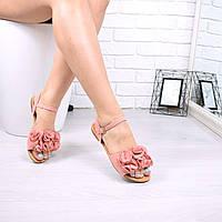 Босоножки женские Torino пудра 4993, сандалии женские, фото 1