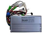 Контроллер для электровелосипеда DAAO 28A 48В 500-800Вт, фото 1