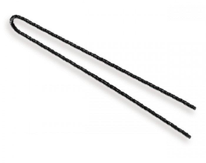 Шпилька парикм.волнистая, черная 7см,250гр 70941 SPL