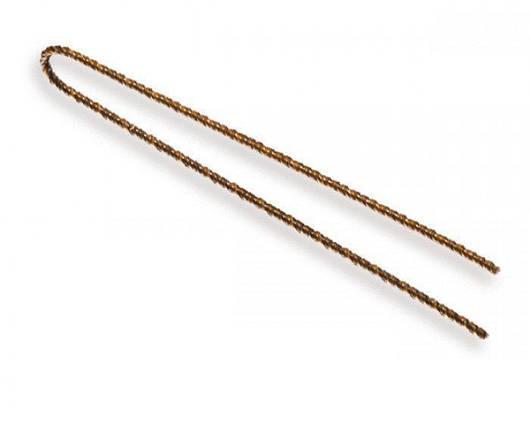 Шпилька парикм.волнистая,коричневая 7см,250гр 70942 SPL, фото 2