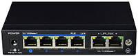 4-портовый POE коммутатор UTEPO UTP3-SW04-TP60, фото 1