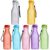 Фитнес бутылка  BPA Free (матовая), фото 1