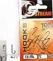Крючок GStream Chika № 12 (15шт)