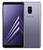 """Смартфон Samsung Galaxy A8 2018 4/32GB Orchid Gray, 16/16+8Мп, 5,6"""" AMOLED, 3000mAh, 2sim, Exynos 7885, 12 мес, фото 1"""