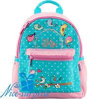 Дошкольный детский рюкзак для девочки Kite K18-534XS-1 (2-5 лет), фото 1