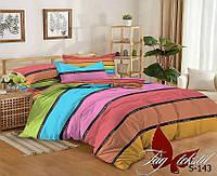 Комплект постельного белья с компаньоном евро макс, сатин люкс, двухспальное