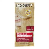 Accent Color 2 Go - Оттеночный шампунь для светлых волос
