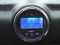 Автомобильные часы, термометр, вольтметр VST-7042V