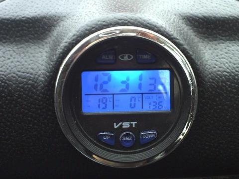 Автомобильные часы, термометр, вольтметр VST-7042V - Интернет-магазин УнивермагPRO в Киеве
