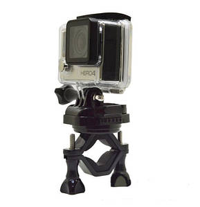 Крепление для Gopro с платформой на велосипед на 360 градусов, подходит для всех экшн камер
