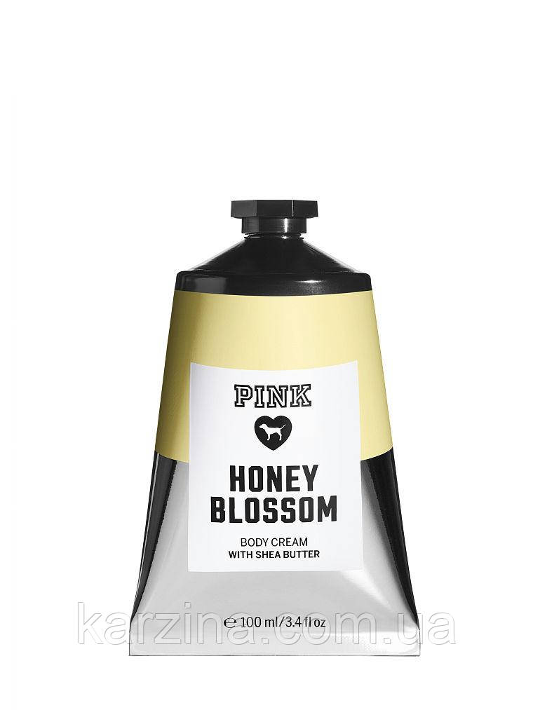 Крем для тела мёд Victoria`s Secret PINK Body Cream Honey Blossom 100мл.