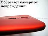 Красный Soft Tpu чехол бампер для Xiaomi Redmi 5 Plus, не скользкий с перламутровым оттенком, фото 6