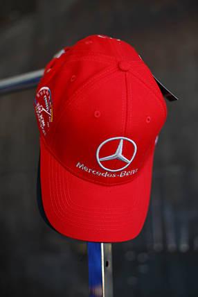 Кепка мужская Mercedec-Benz.Черная, фото 2