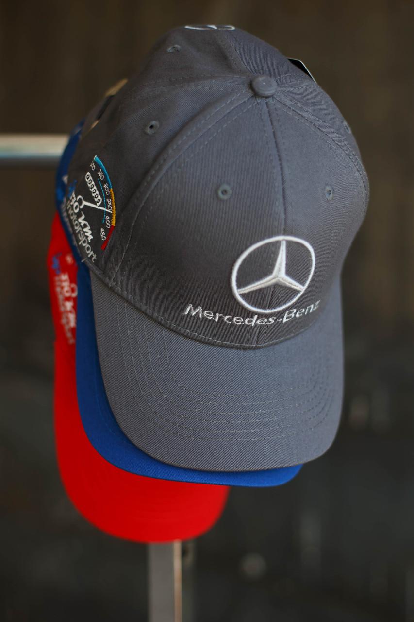 Кепка мужская Mercedec-Benz. Серая