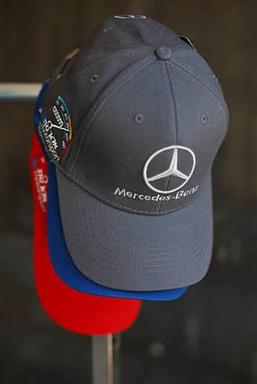 Кепка мужская Mercedec-Benz. Серая, фото 2