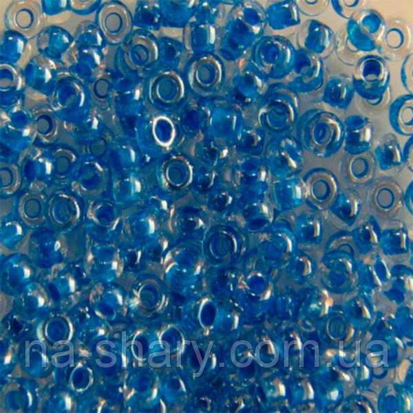 Чешский бисер для рукоделия Preciosa (Прециоза) оригинал 50г 33119-38836-10 Голубой