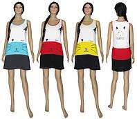 NEW! Оригинальные трикотажные платья - сарафаны на лето серии Cat How Fun ТМ УКРТРИКОТАЖ!