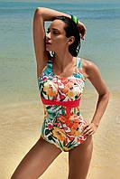 Закрытые купальники больших размеров для женщин с животом Vacanze Italiane VF 6512 44 Цветной