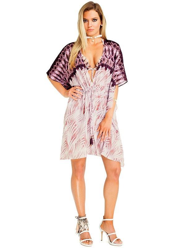 1f0ac73e2b5f2 Платье туника для пляжа Magistral AT 370 44(M) Коричневый : продажа ...