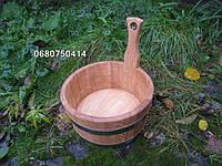 Шайка дубовая 3л. для бани