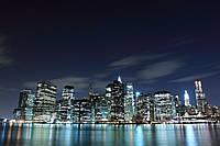 Фотообои ArtWalls Фотообои: Ночной мегаполис ArtWalls-00252 Глянец