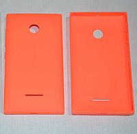 Задняя оранжевая крышка для Microsoft Lumia 532