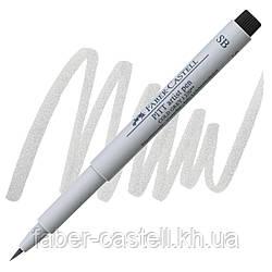 "Ручка-кисточка капиллярная Faber - Castell PITT® ARTIST PEN ""SOFT BRUSH"" № 230 холодный серый I , 167830"