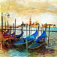 Фотошпалери ArtWalls Фотошпалери: Сині каное ArtWalls-00202 Глянець