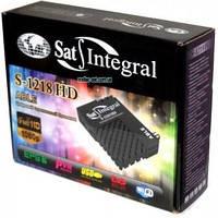 Компактный спутниковый тюнер Sat-Integral S-1218 HD Able