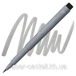 "Ручка-кисточка капиллярная Faber - Castell PITT® ARTIST PEN ""SOFT BRUSH"" № 232 холодный серый III , 167832"