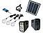 Солнечный набор GD LITE GD-8017 (Лампа-фонарь с аккумулятором), солнечная система, фото 2