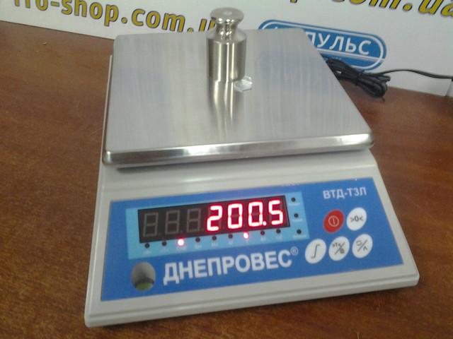 купить весы для фасовки Днепровес ВТД Т3Л