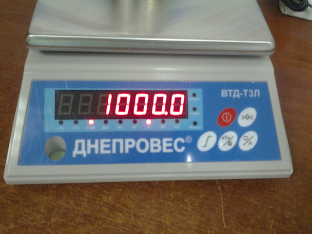 фасовочные весы Днепровес ВТД Т3Л купить