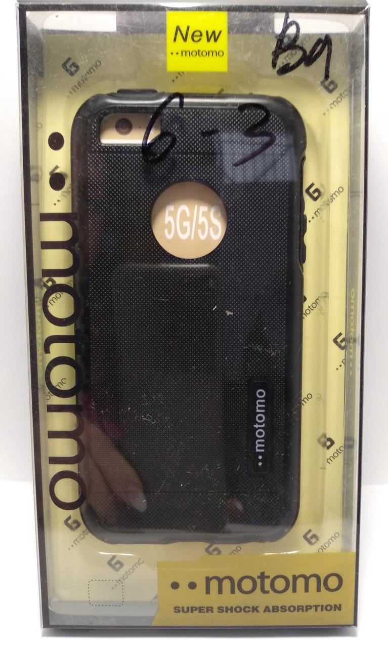 Чохол Motomo iPhone 5 / 5s чорний