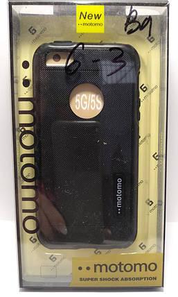 Чохол Motomo iPhone 5 / 5s чорний, фото 2