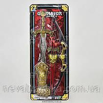Игровой Набор Рыцаря на листе меч лук стрелы нарукавник, 6935 В, 008292