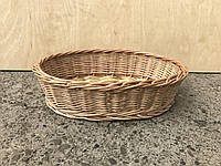 Корзина для хлеба плетеная овальна, фото 1