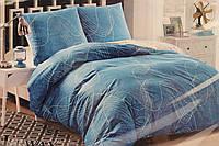 Сатиновое постельное белье ELWAY (размер Евро) 5055