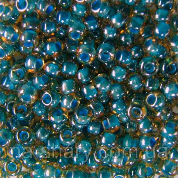 Чешский бисер для рукоделия Preciosa (Прециоза) оригинал 50г 33119-11022-10 Голубой