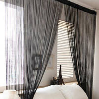 У нас появились в продаже готовые шторы-нити Кисея Радуга длиной от 3 метров!