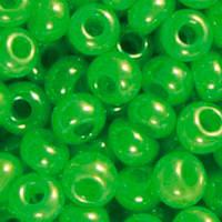 Чешский бисер для рукоделия Preciosa (Прециоза) оригинал 50г 33119-17156-10 Зеленый