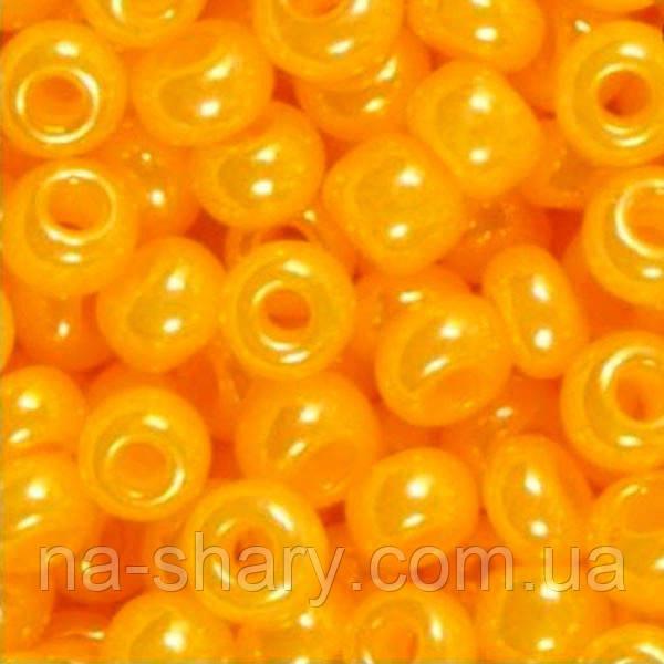 Чешский бисер для рукоделия Preciosa (Прециоза) оригинал 50г 33119-17183-10 Оранжевый