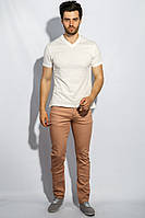 Брюки мужские стильные оттенки 909K001-2 (Бледно-коралловый)