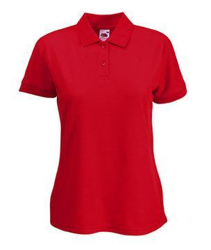 Женская футболка Поло 212-40-k374  fruit of the loom