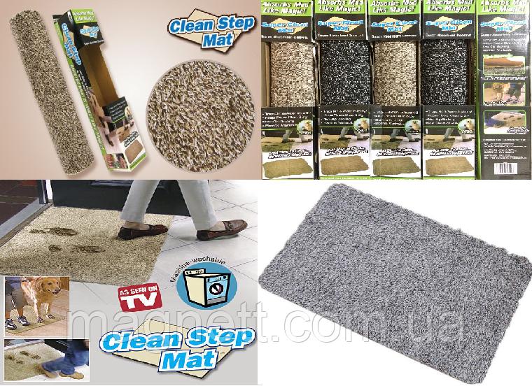 Супер впитывающий коврик Clean Step Mat