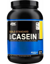 Протеин 100% голд стандарт казеин  Optimum Nutrition Gold standard 100% Casein 909 гр
