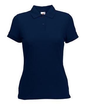 Женская футболка Поло 212-AZ-k378  fruit of the loom